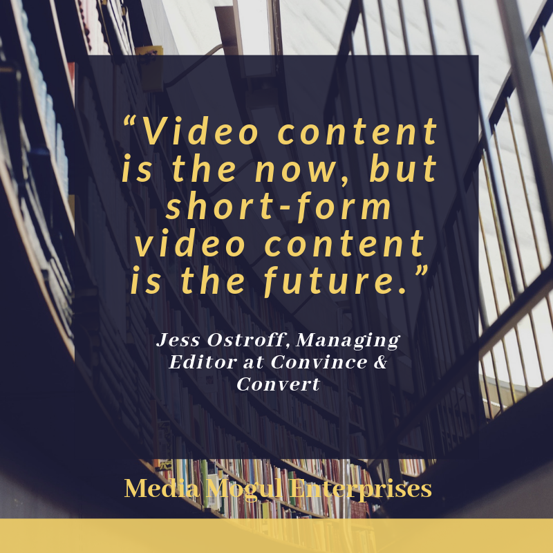 Short Form Video quote